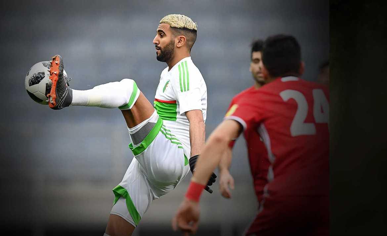 Mahrez bintang untuk Aljazair