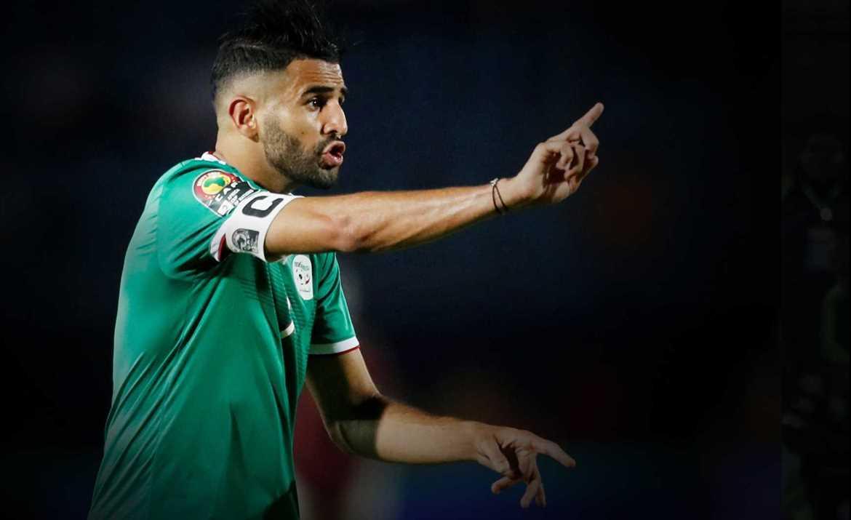 Mahrez starts AFCON defence