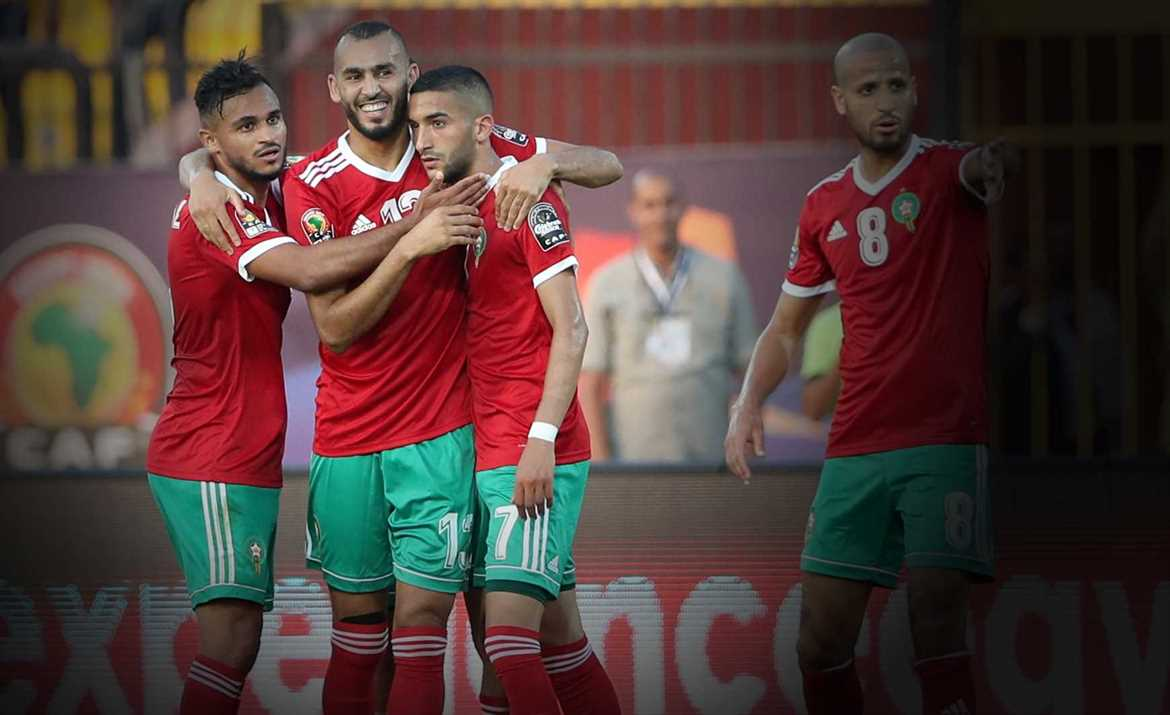 Ziyech stars for Morocco